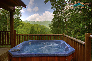 ATyme to Remember romantic nantahala log cabin