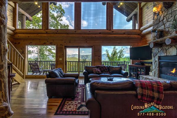 Antler Ridge Vacation Rental Log Cabin