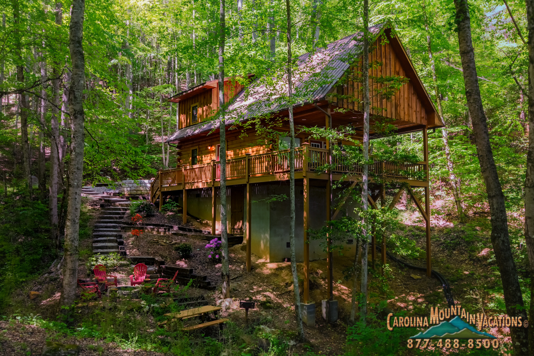 bryson cabins rentals smoky carolina north city cabin mountain pin nc