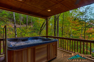 appalachian escape log cabin in bryson city nc