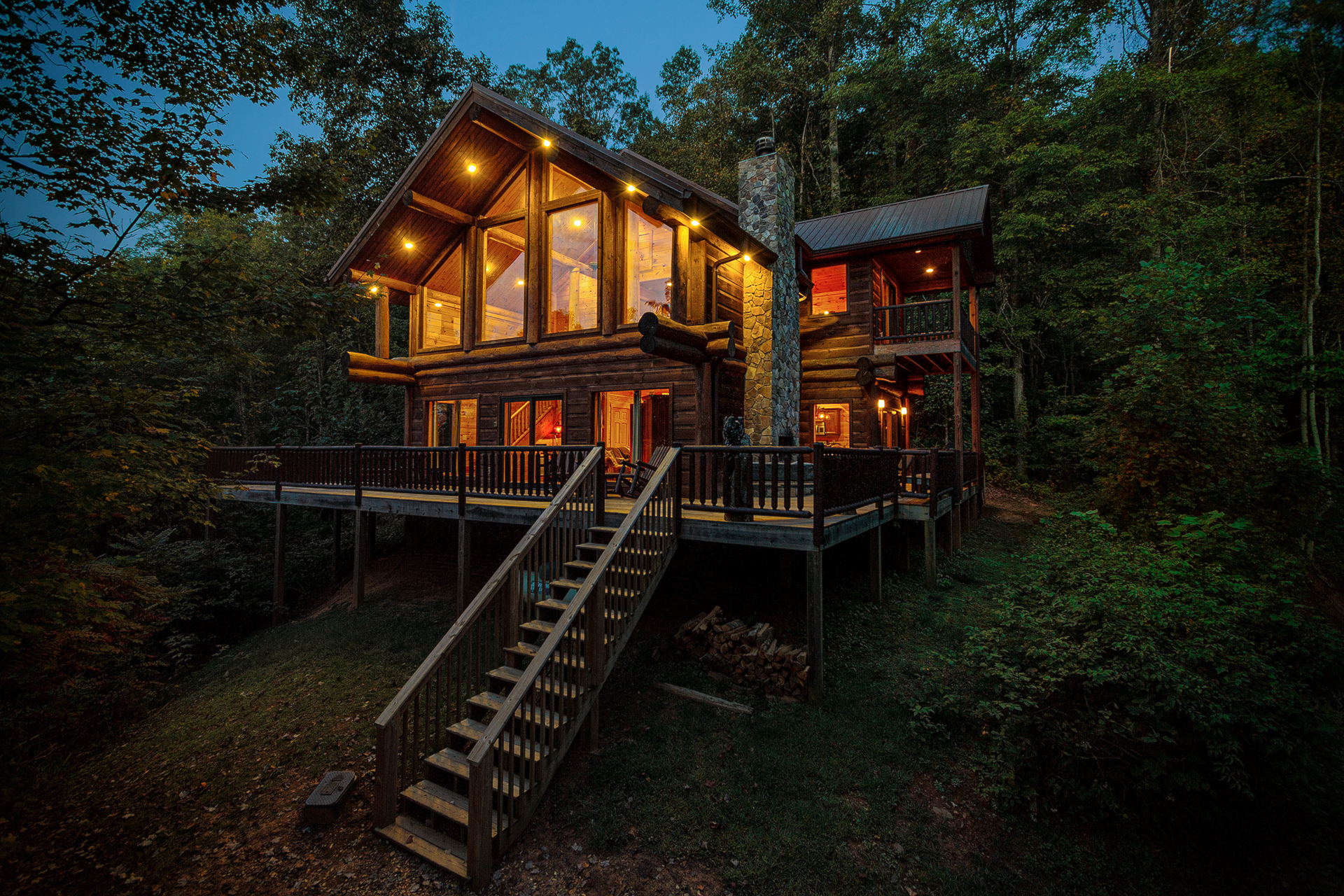 Cabin In The Clouds Vacation Rental In Nantahala Nc
