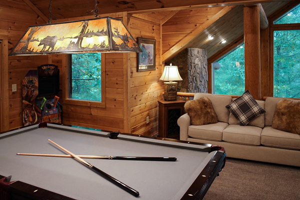 Cabin in the Clouds smoky mountain vacation rental