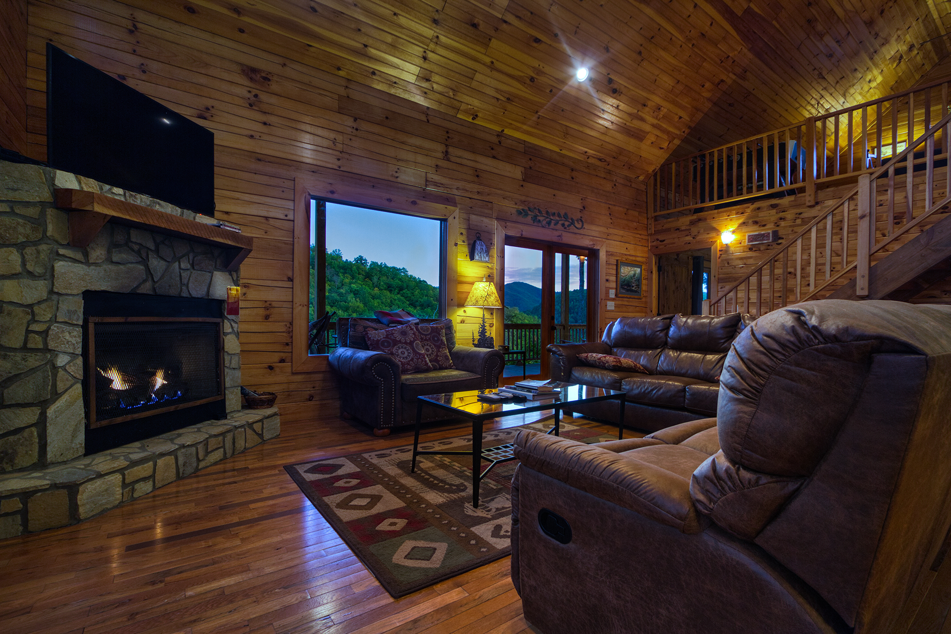 Cedar Ridge Smoky Mountain Rental Cabin Info By Carolina Mountain