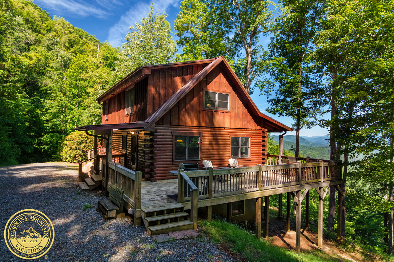 Crow 39 S Nest Log Cabin Vacation Rental Nc Info By Carolina