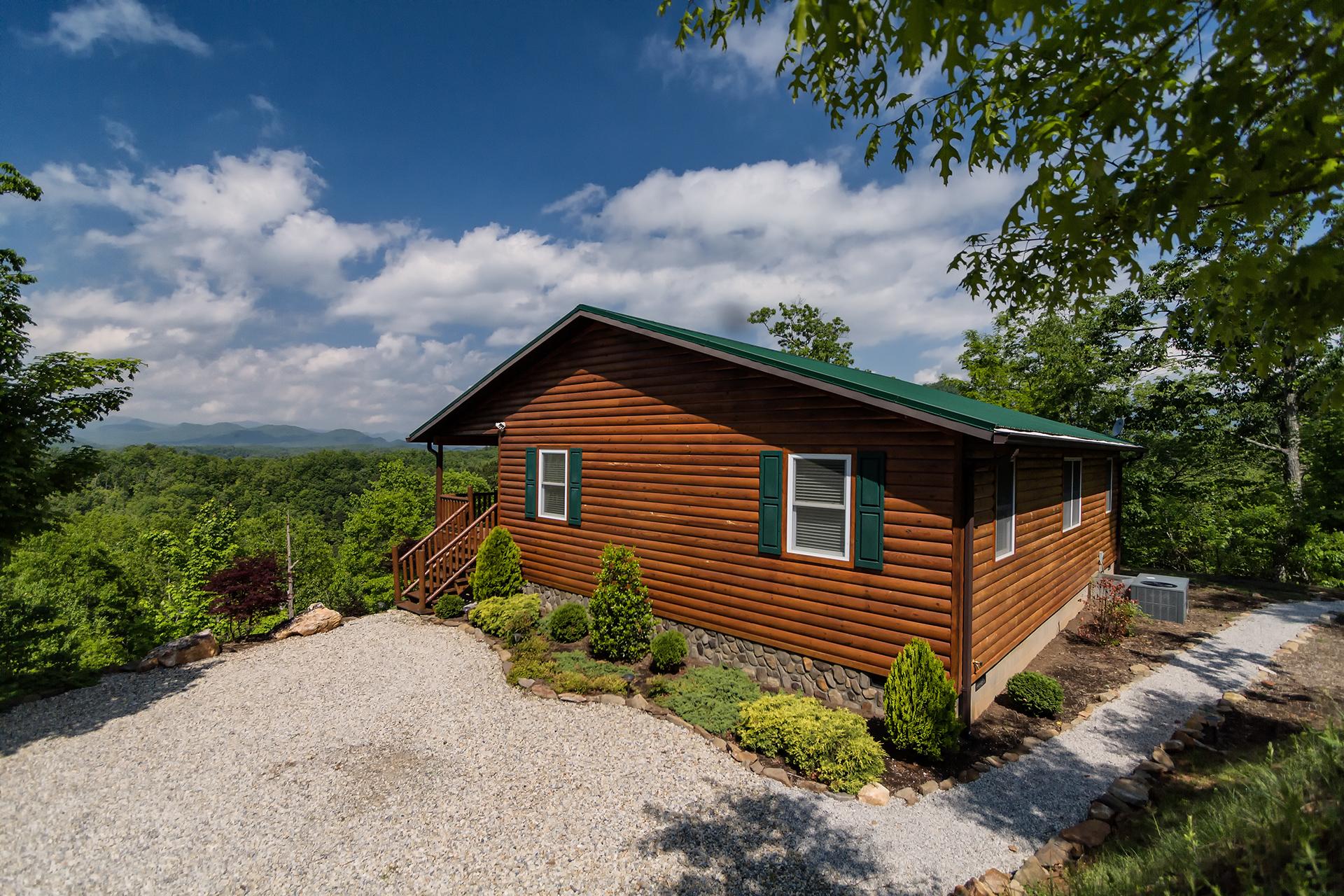 fontana lake view log cabin rental info by carolina
