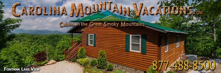 Fontana Lake View Log Cabin Rental
