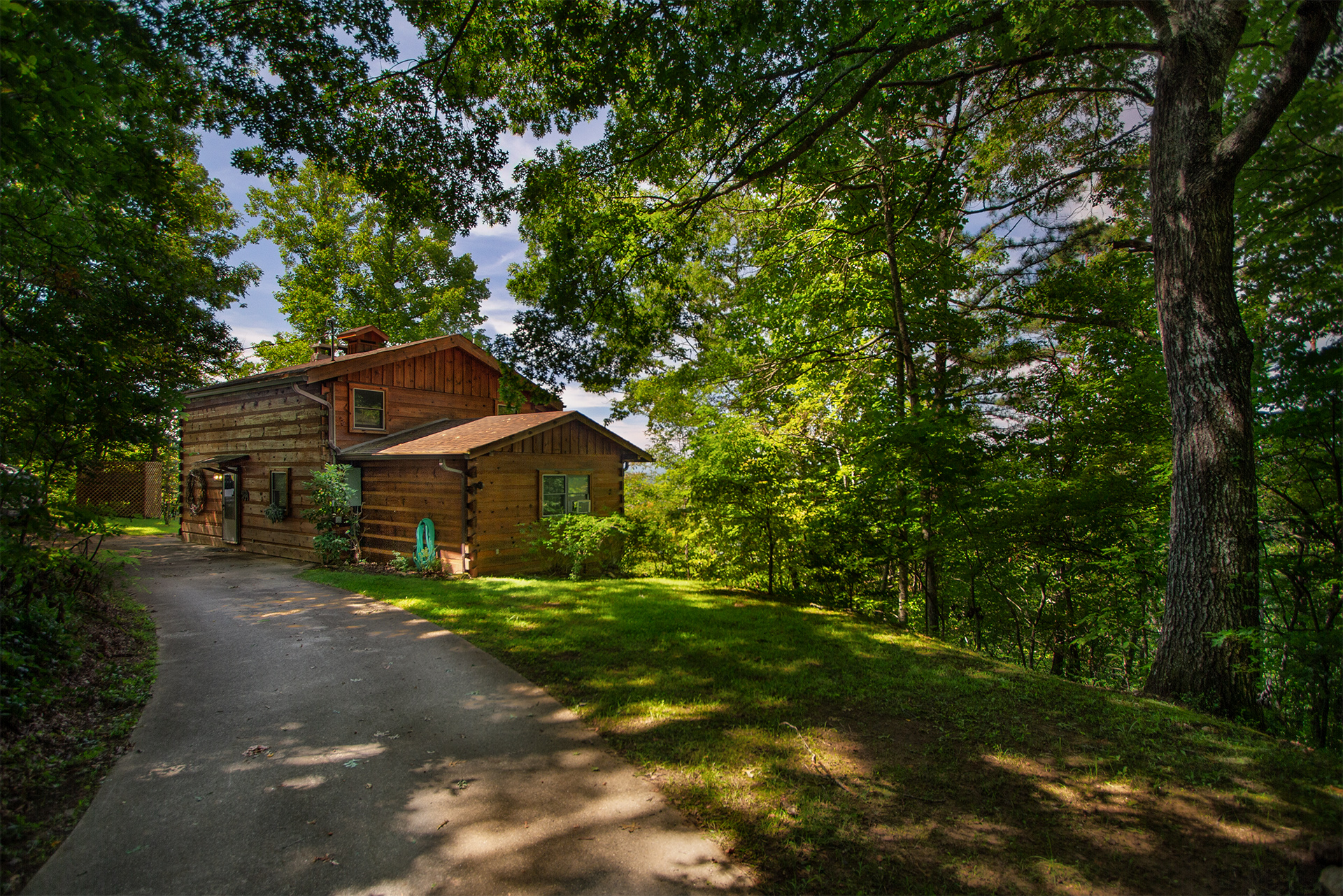 Grandpa 39 s smoky mountain log cabin vacation rental Cabin rental smokey mountains