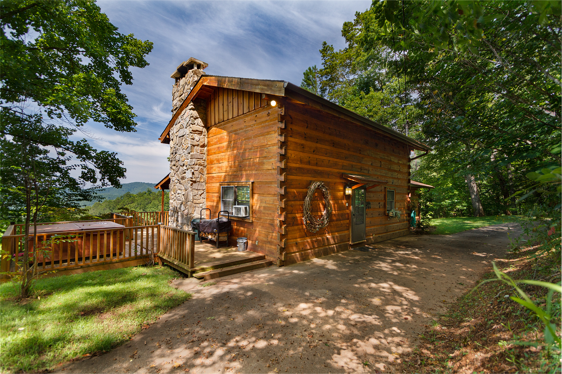 Grandpa S Smoky Mountain Log Cabin Vacation Rental 1 Bedroom