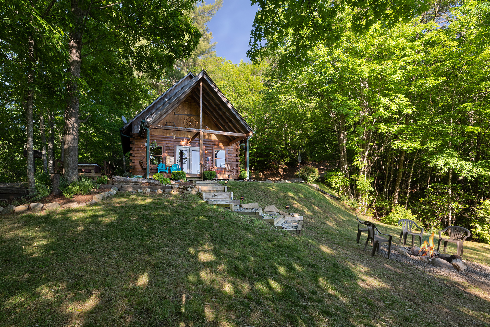 Mountain Hideaway Log Cabin Vacation Rental By Carolina