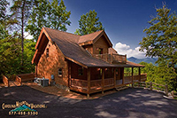 Peaceful Paradise log cabin