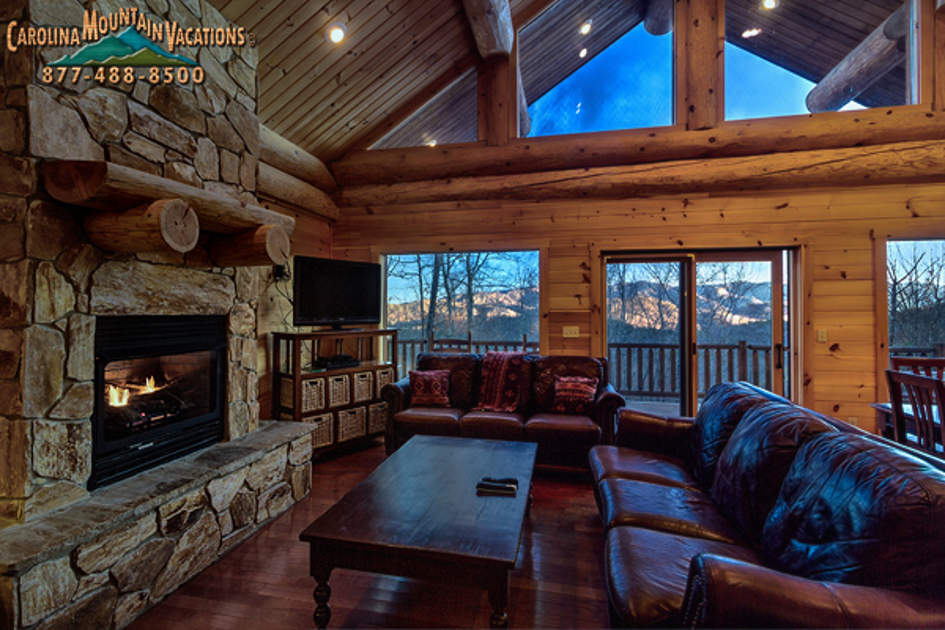 Ridge Runner Hideout Nantahala NC Vacation Rental Cabin
