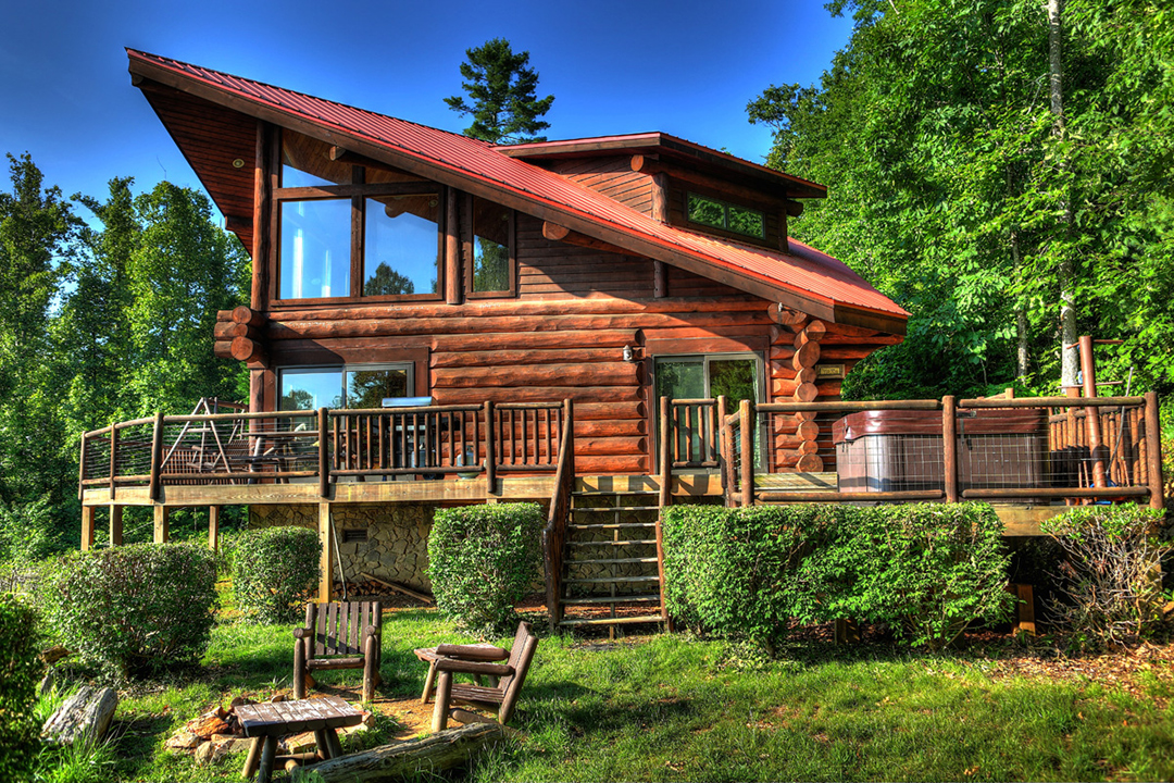 Time Flies Smoky Mountain 1 Bedroom Log Cabin Rental Info