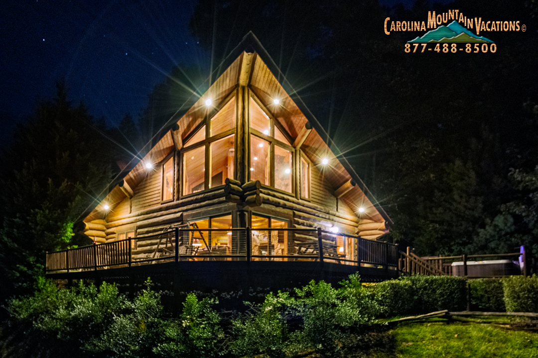 cabin luxurious decoration north home idea with excellent on rentals carolina cabins