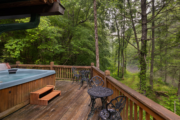 Alarka's Lure Lodge on nc mountain trout stream