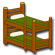 Bunk Bed Twin top, Full Bottom