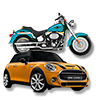 Mini Cooper MotorCycle Friendly accessible
